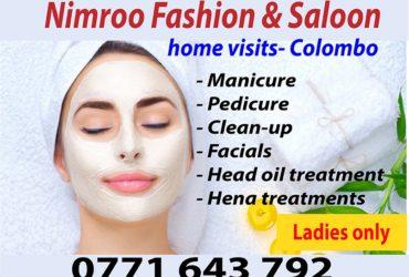 Beauty care Home visits Colombo