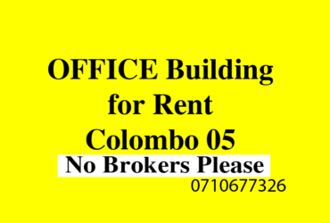 Office Building rent Colombo 05